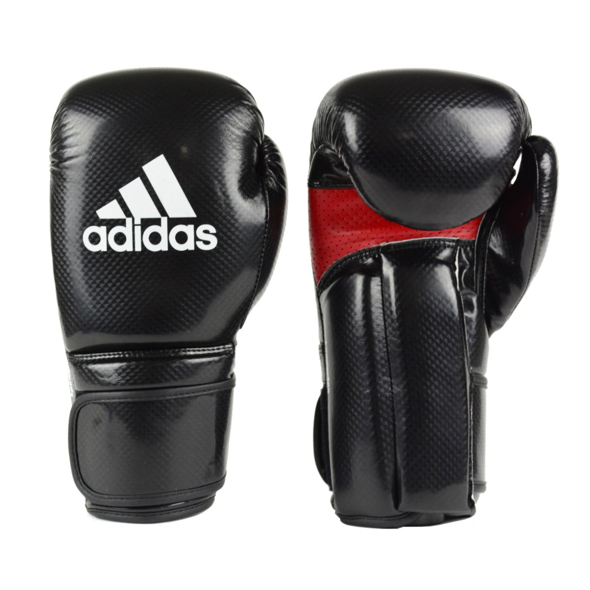 Luva Kick Boxing Adidas KPOWER 200 Preto/Vermelho