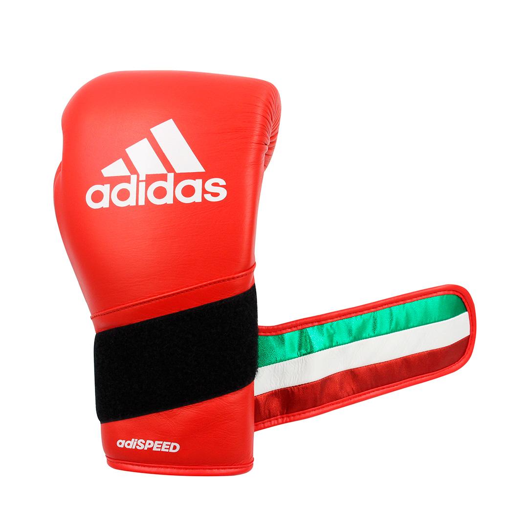 Luvas de boxe e kickboxing adidas Adi-Speed 501 Pro Red
