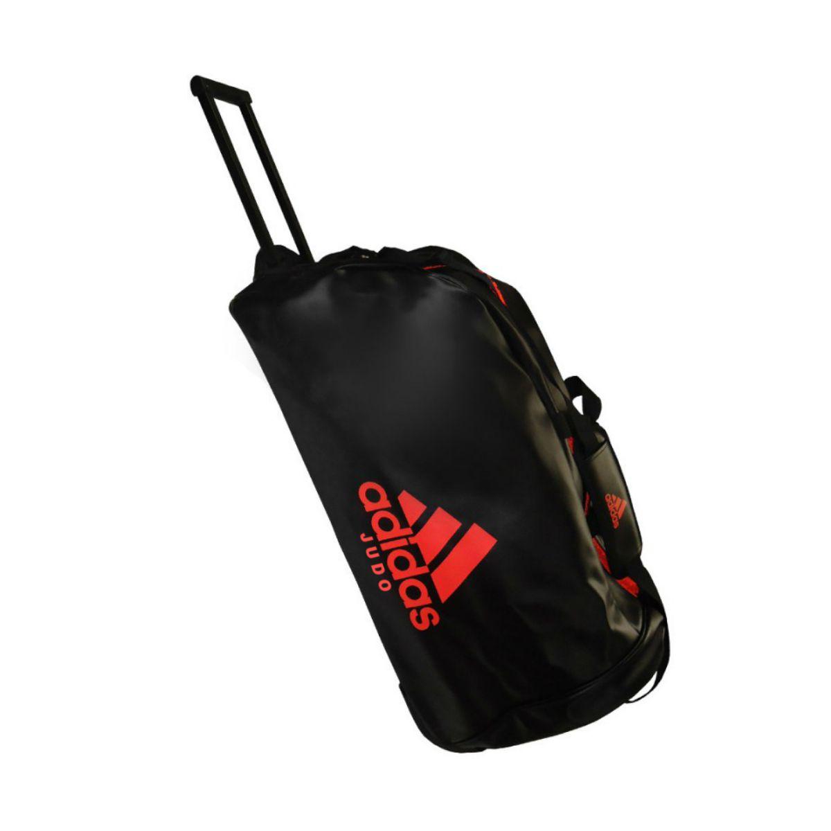 Mala com Rodinhas Adidas Judo Trolley Bag Poliéster Preto/Vermelho