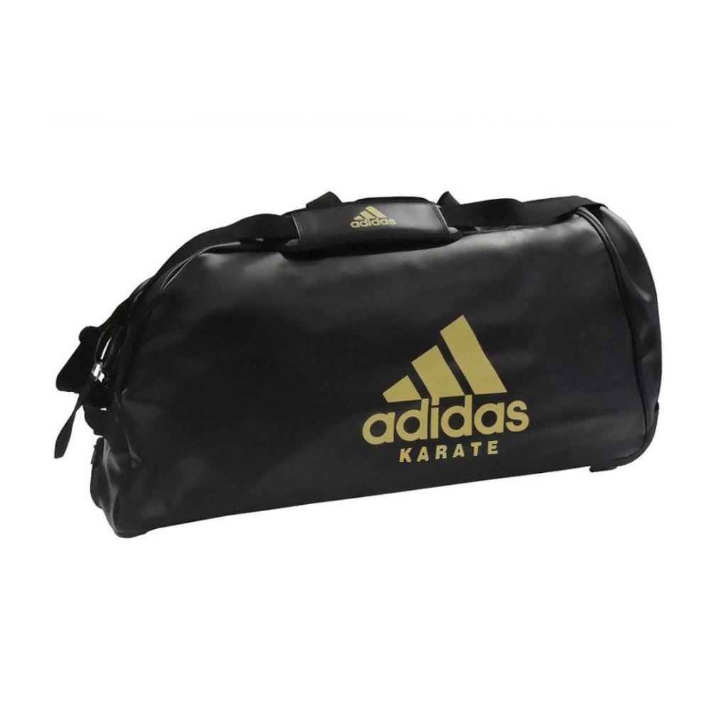 Mala com Rodinhas adidas Karate Premium P.U - Preta/Dourada