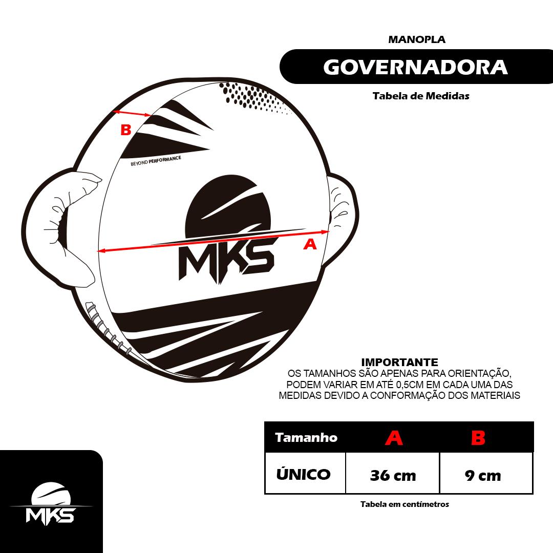 Manopla Governadora PRO MKS Combat