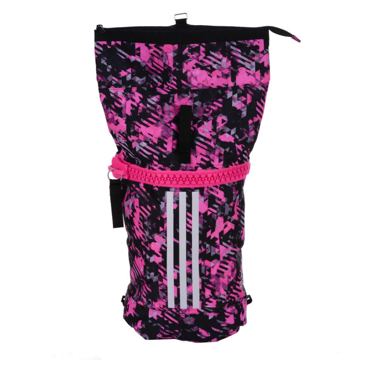Mochila Adidas Karate Camuflada Rosa - 25 Litros