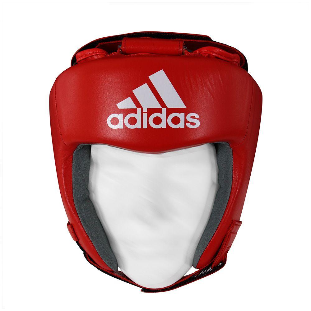 Capacete Protetor de Cabeça adidas AIBA Approved Vermelho