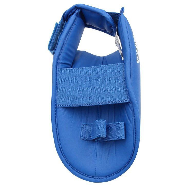 Protetor de Pé para Caneleira adidas Karate WKF Azul