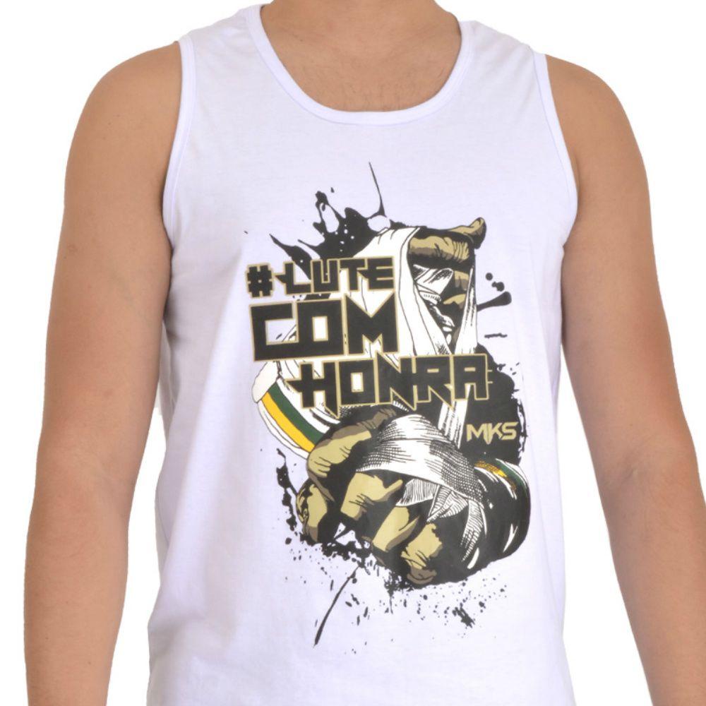 Regata MKS Combat #lutecomhonra Branca
