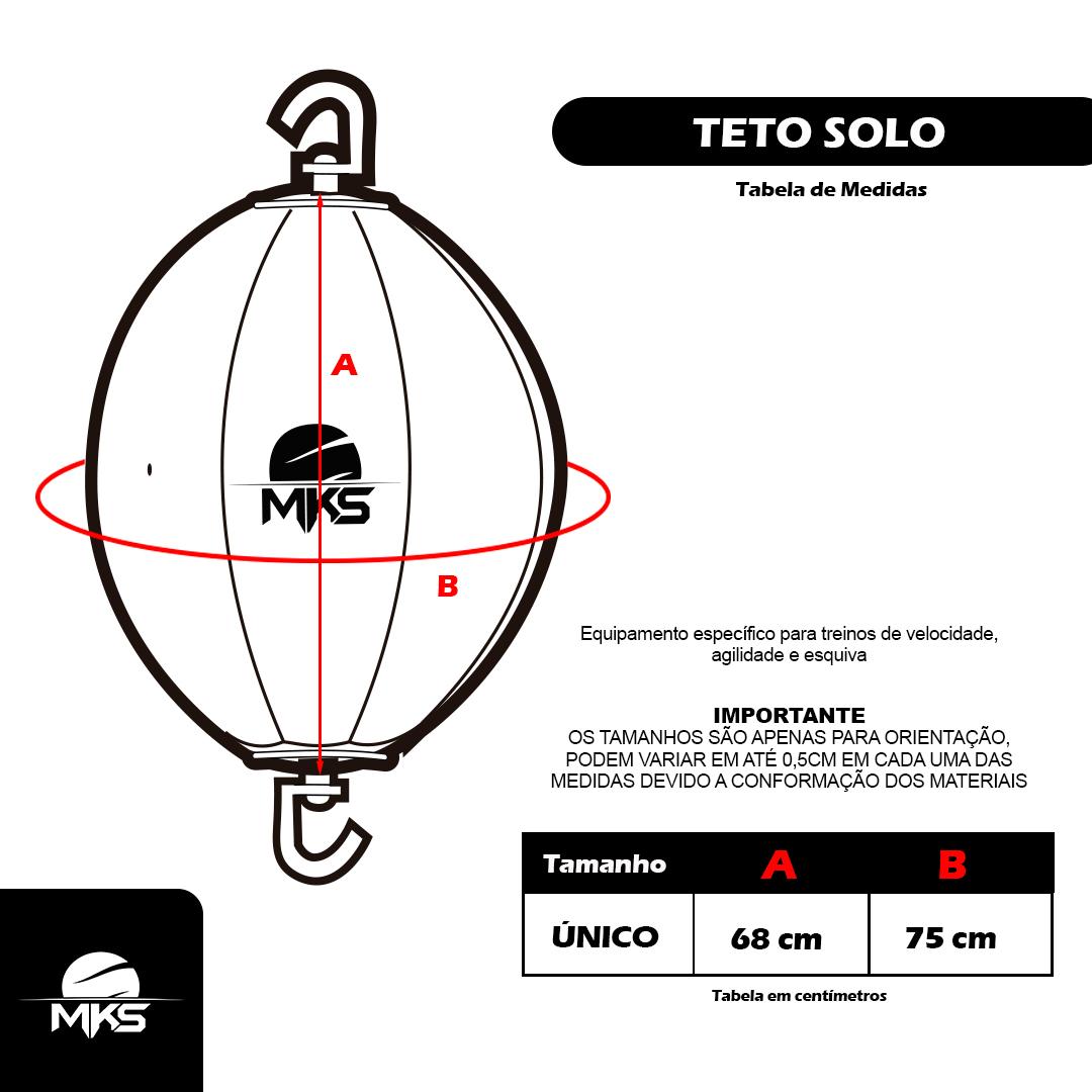Teto Solo MKS Combat Vermelho