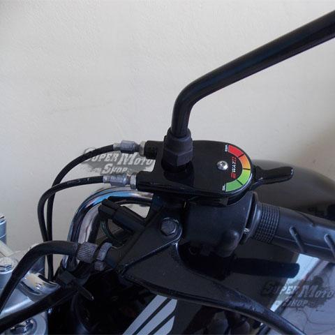 Escape / Ponteira Coyote TRS 2 Way + Mais Alumínio CG 150 Titan / Fan EX/ESDi 2009 até 2013 - Polido - Honda
