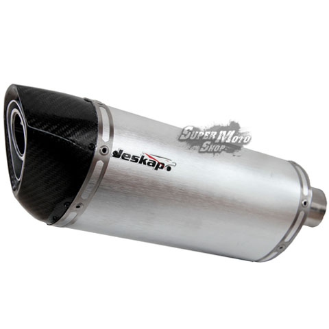Escape / Ponteira Jeskap Three Carbon Alumínio - F 800 GS / F 800 R - BMW