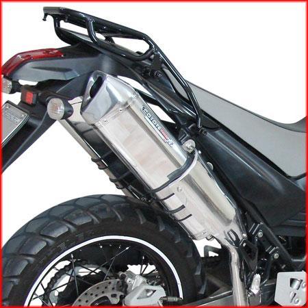 Escape / Ponteira Coyote TRS 2 Way PAR Alumínio XT 660 R - Preto ou Preto Black - Yamaha