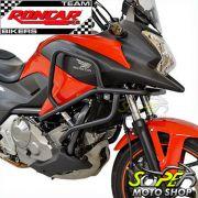 Protetor de Motor e Carenagem Roncar Preto Fosco - NC 700 / 750 X - Honda