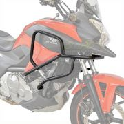 Protetor de Motor e Carenagem Coyote Com Pedaleiras Preto Fosco - NC 700 / 750 X - Honda