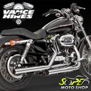 Escapamento Vance & Hines Mod. Straightshots Cromado ( Ponteira ) - XL 883 / XL 1200 ano 04 até 13 -