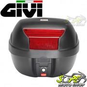 Bauleto / Baú Traseiro Top Case GIVI Modelo E29N 29 Litros Preto - Universal