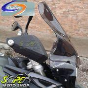 Bolha / Parabrisa Cristal ou Fumê Modelo Criativa Acessórios Tiger 800 / XC - Triumph