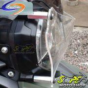 Protetor de Farol / Faróis em Acrílico Modelo Criativa Acessórios Tiger 800 / XC - Triumph