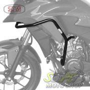 Protetor de Motor e Carenagem Scam Preto - CB 500 X - Honda