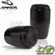 Slider Dianteiro Anker MT-09 2014 em Diante - Preto Anodizado - Yamaha