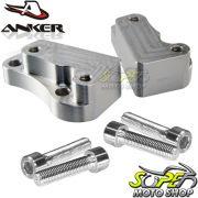 Riser Anker Recuado para Guid�o Versys 650 2009 em Diante - Kawasaki