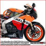 Slider Dianteiro Coyote (PAR) CBR 1000 RR 2008 até 2009 - Amarelo & Preto c/ Anel Amarelo - Super Moto Shop