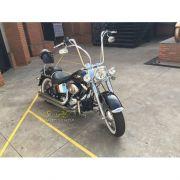 Guidão WingsCustom Modelo Ape Hanger Robust Inox - HD Sportster / Dyna - Harley Davidson - Super Moto Shop