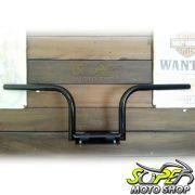 Guidão WingsCustom Modelo Frisco Custom Curve Slim - Preto - Super Moto Shop