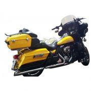 Guidão WingsCustom Modelo Diablo Robust Preto - HD Touring Ultra Glide - Harley Davidson - Super Moto Shop