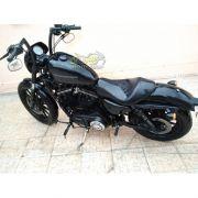 Guidão WingsCustom Modelo King Robust Clean Preto - HD Softail Fat Boy / Breakout - Harley Davidson - Super Moto Shop