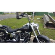 Guidão WingsCustom Modelo King Robust Inox - HD Softail Fat Boy / Breakout - Harley Davidson - Super Moto Shop