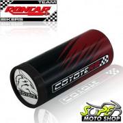 Slider Dianteiro Coyote (PAR) Bandit 650 / 1250 2009 em Diante - Suzuki - Vermelho & Preto c/ Anel Vermelho - Super Moto Shop