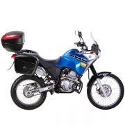 Kit Baú / Bauleto Lateral Side Case GIVI Modelo E-21 (Par) + Suporte Scam - Tenere 250 ano 2016 em Diante - Yamaha - Super Moto Shop