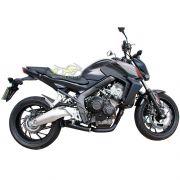 Escape / Ponteira Wacs Modelo GPR Megafônica Preta - CB / CBR 650 F - Honda - Super Moto Shop