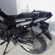 Kit Baú / Bauleto Lateral Side Case GIVI Modelo E-21 (Par) + Suporte Scam - XRE 190 - Honda - Super Moto Shop
