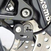 Protetor de Sensor ABS Scam Preto - F 800 R - BMW - Super Moto Shop