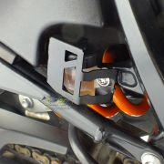 Protetor / Capa do Reservatório de Freio Traseiro Scam Preto - F 800 R - BMW - Super Moto Shop
