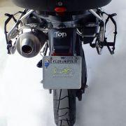 Suporte Lateral Scam para Bauletos Laterais Preto - F 800 Adventure - BMW - Super Moto Shop