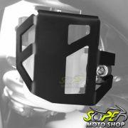 Protetor / Capa do Reservatório de Freio Traseiro Scam Preto - F 800 Adventure - BMW - Super Moto Shop