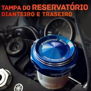 Tampa do Reservatório de Freio Traseira ou Dianteira Modelo Evolution Racing - Super Moto Shop