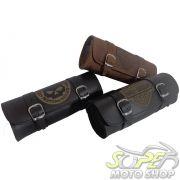 Porta Ferramentas Rider's Classic em Couro Modelo 30cm com Gravação - Universal - Super Moto Shop