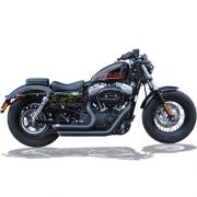 Escapamento Esportivo Torbal Modelo Short Shot Corte p/ Baixo - HD Sportster 883 2009 até 2013 - Harley Davidson - Super Moto Shop
