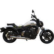 Escapamento Esportivo Torbal Modelo Thunder Bolt 2X1 - Vulcan 650 S - Kawasaki - Super Moto Shop