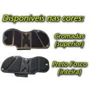 Kit Plataformas Dianteiras Fixas + Traseiras Articuladas Modelo Sport - Shadow 600 - Honda - Super Moto Shop