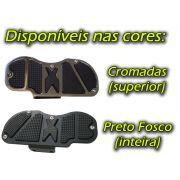Kit Plataformas Dianteiras Fixas + Traseiras Articuladas Modelo Sport - Virago 535 - Yamaha - Super Moto Shop
