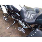 Kit Plataformas Dianteiras Fixas + Traseiras Articuladas Modelo Sport - Mirage 250 - Kasinski - Super Moto Shop