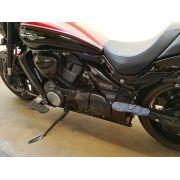 Kit Plataformas Dianteiras Fixas + Traseiras Articuladas Modelo Sport - Kansas 150 - Dafra - Super Moto Shop