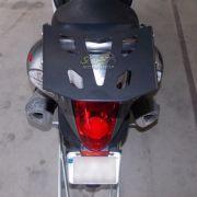Bagageiro / Suporte Chapam em Chapa Preto - Hayabusa 1300 - Suzuki - Super Moto Shop