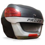 Bauleto / Bau Traseiro Proos Modelo P290 (29 Litros) - Lente Prata - Super Moto Shop