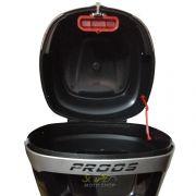 Bauleto / Bau Traseiro Proos Modelo P290 (29 Litros) - Lente Vermelha - Super Moto Shop