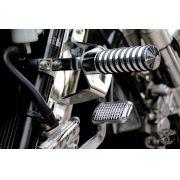 Protetor de Motor / Mata Cachorro Dalavas com Pedaleira - Mirage 650 - Kasinski - Super Moto Shop