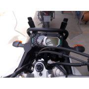 Suporte / Alça Preta Modelo Chapam Para GPS - Super Tenere 1200 até 2015 - Yamaha - Super Moto Shop