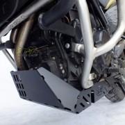 Protetor de Carter Scam Preto - F 700 GS - Yamaha - Super Moto Shop